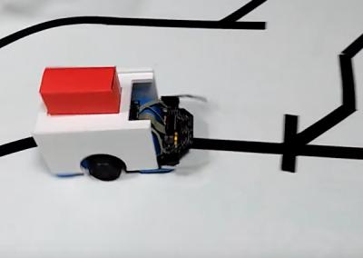 Robot convoyeur