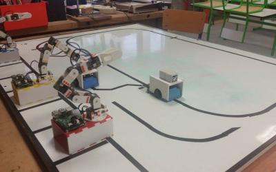 Le port de Rotterdam simulé dans une salle de classe