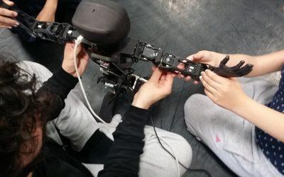 Atelier coding goûter : faire danser Poppy